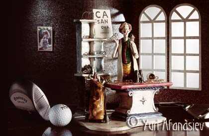 Итальянский фарфор. Рекламная фотосъемка. Интероптика календарь. Юрий Афанасьев