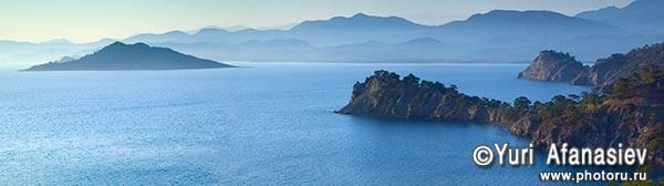 Панорамная фотография, панорамная съемка. Фотограф Юрий Афанасьев. Фото панорама Турция