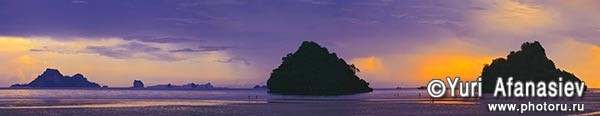 Панорамная фотография, панорамная съемка. Фотограф Юрий Афанасьев. Фото панорама Тайланд