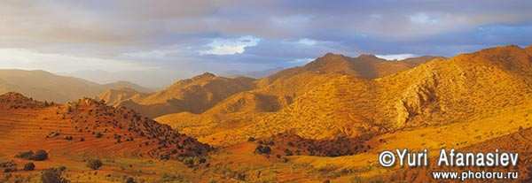 Панорамная фотография, панорамная съемка. Фотограф Юрий Афанасьев. Фото панорама Марокко