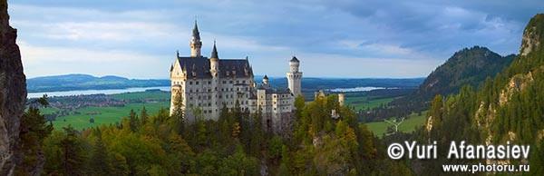 Панорамная фотография, панорамная съемка. Фотограф Юрий Афанасьев. Фото панорама Германия