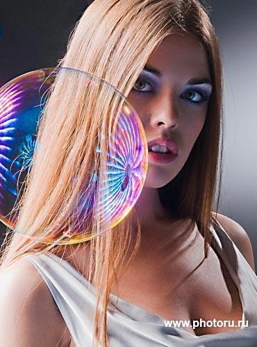 Фотофорум 2008.Вера Красова-Вице-мисс Вселенная 2008. Фотограф Юрий Афанасьев.