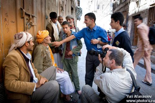 Юрий Афанасьев. Йемен, Сана - фото тур. Семка портретов Йеменцев.