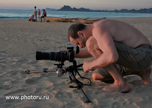Профессиональный фотограф, Юрий Афанасьев. Бирма 2010. Штатив Manfrotto 055CXPRO4